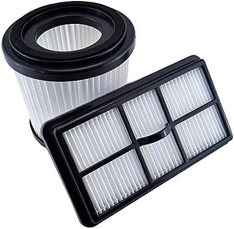 Filtro, filtro para aspirador Juego Compatible con Dirt Devil Quick Power Cyclonic Canister Vac sd40100: Amazon.es: Hogar