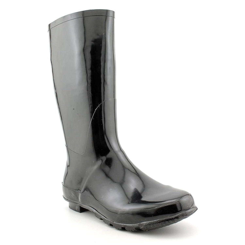 143 Girl Raisinette Womens Size 10 Black Rubber Rain Boots