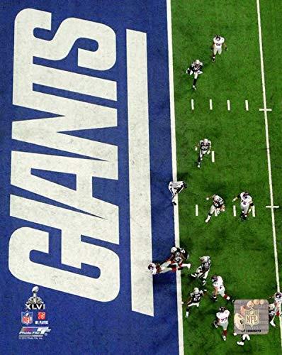 New York Giants Super Bowl XLVI Action Photo (Size: 8
