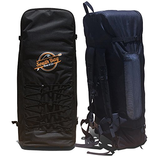 Premium ISUP Backpack - Universal Inflatable Paddle Board Back Pack with Wheels