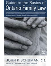 Guide to the Basics of Ontario Family Law, 4th Edition