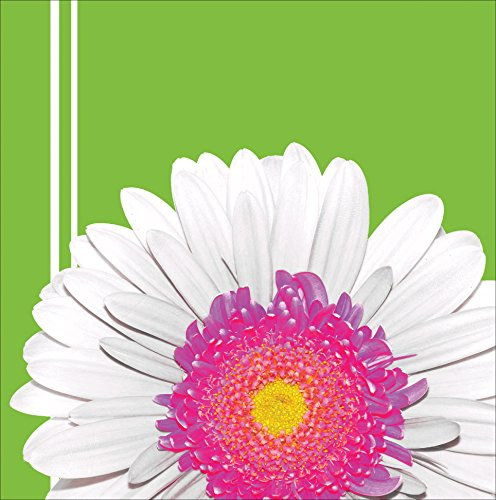 Creative Converting 18 Count Lunch Napkins, Daisy Power