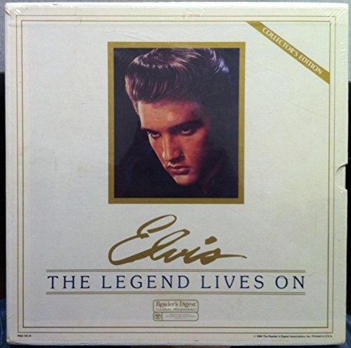 ELVIS PRESLEY the legend lives on 7 LP sealed RBA-191/A Vinyl 1986 Record 1st
