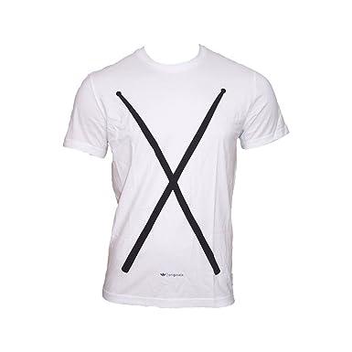 dae21a1adcba1 adidas Originals - Camiseta deportiva - para hombre blanco XL   Amazon.es   Ropa y accesorios