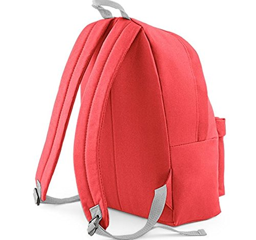 Grey Backpack BagBase BG125 Light Fashion Coral RxFH7q
