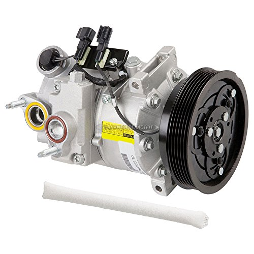 (OEM AC Compressor w/A/C Drier For Volvo S80 V70 & XC70 - BuyAutoParts 60-88245R4 New)