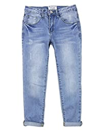 Mayoral Junior Girl's Relaxed Denim Pants, Sizes 8-18