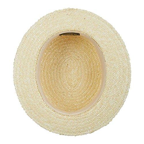 4945575d645 Scala Men s Dress Straw 1 Piece 10 11Mm Laichow Braid Boater Hat