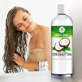 Fractionated-Coconut-Oil-Pure-Expeller-Pressed-Hexane-Free-MCT-Best-USA-Bottled-Carrier-Oil-for-Essential-Oils-Aromatherapy-Massage-Therapeutic-Grade-Lg-16oz-Pump-12-Ellies-Best-Recipes