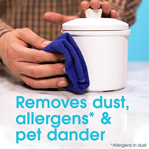 Pledge Dust and Allergen Multi-Surface Cleaner Spray, Works on Leather, Granite, Wood, and Stainless Steel, Lemon, 9.7 oz