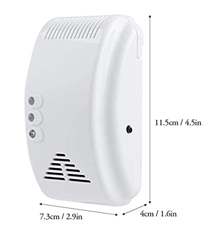 12V Gas Detector Sensor Propane Alarm with Dry Contact Relay Output - - Amazon.com