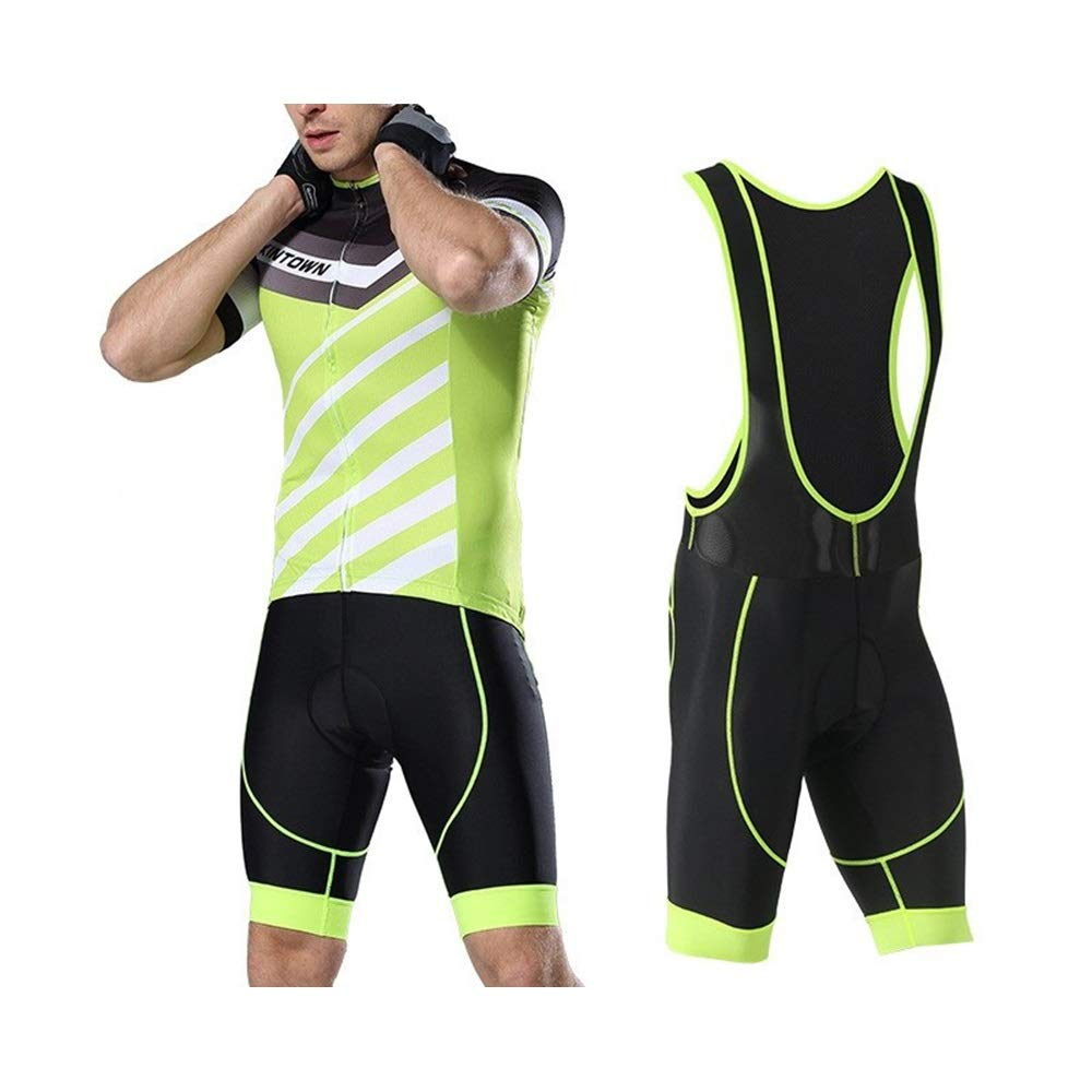 Fahrrad Reitanzug Herren New Summer Fahrrad Kurzarm Shirt Shorts Strap Jersey Anzug Fahrrad Trikot LPLHJD