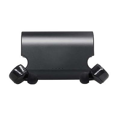 amazingdeal365 X2T Mini invisible Bluetooth inalámbrico verdaderamente V4.2 estéreo Surround sonido auriculares Bluetooth para