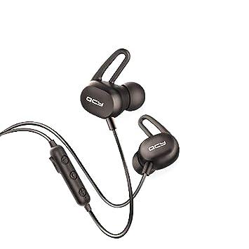 Qcy - e2, Auriculares Deportivos Bluetooth con Control Remoto y ...