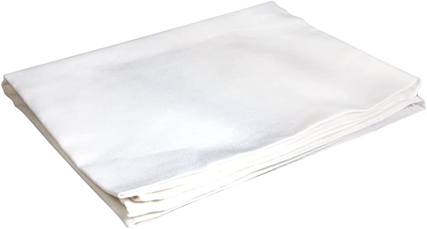 RAYHER HOBBY Mantel, algodón, Blanco, 2.85 x 2.04 x 0.15 cm, 4 ...