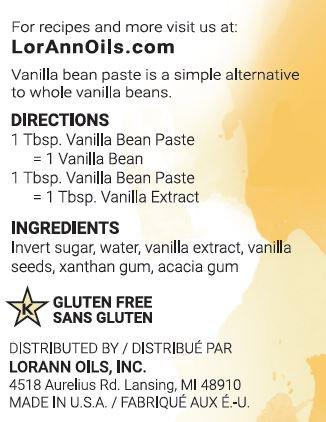 Vanilla Bean Paste, Natural, 16 Ounce, LorAnn by LorAnn Oils (Image #1)
