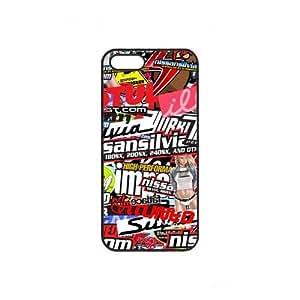 Funky Sticker Bomb Phone Case 06 (iPhone 4/4s, Black Phone Case)