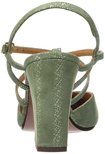 Chie Mihara Renne - Sandalias de Talón Abierto Mujer Vert (Perla Celadon)