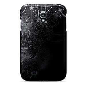 Galaxy S4 Cover Case - Eco-friendly Packaging(black And White)