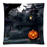 Pillow Case Neartime Happy Halloween Pillow Cases Linen Sofa Cushion Cover Home Decor (Free, D)