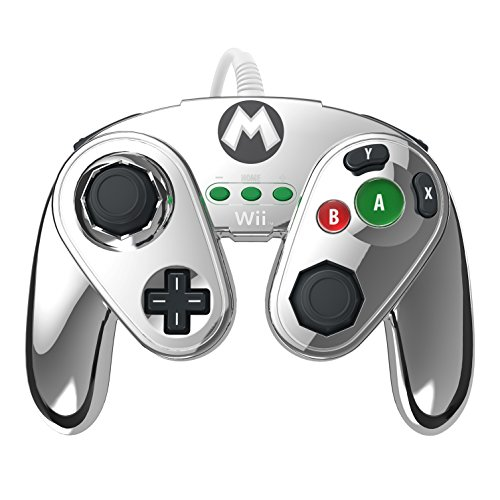 PDP Wired Fight Pad for Wii U - - Gamecube Mario Smash Bros