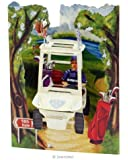 3D Swing Cards 'Golf Buggy' SC152