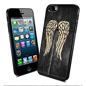 Daryl Dixon Wings Dixon Wings the Walking Dead and Samsung Galaxy Case (ipod touch4black)