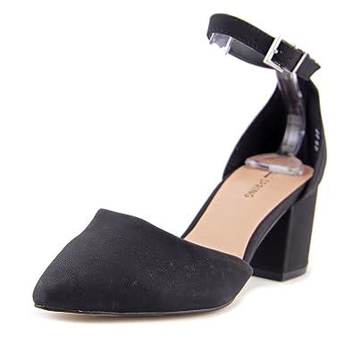 dec1fbb625a Call It Spring Trivio Women US 8.5 Black Platform Heel