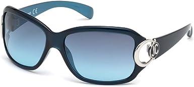 Just Cavalli JC202S 90W 62 Gafas de Sol Mujer Azul Luc//BLU Grad