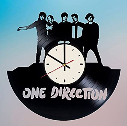 Amazon Com One Direction Vinyl Wall Clock Unique Gifts