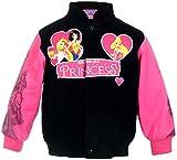 J.H. Design Girl's Fairytale Princesses Snap-Up Jacket (5)
