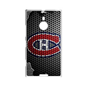 Icasepersonalized Personalized Protective,NHL Montreal Canadiens Custom Case for Nokia Lumia 1520 by icecream design