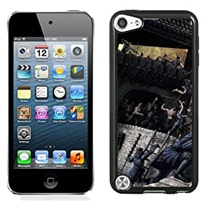 Beautiful And Unique Designed With Fight Castle Wall Rain Attack For iPod 5 Phone Case