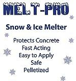 SNOW & ICE MELT - Unique Polymer Formula-BIG- 50lb Bag, Safe around pets, lawn, shrubs, sidewalks, porches and driveways.