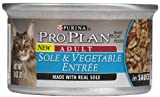 Purina Pro Plan Savor Adult Sole and Vegetable Entree in Sauce – 24 x 3 oz, My Pet Supplies