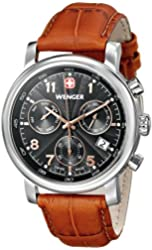 Wenger Men's Urban Classic Chrono Watch with Leather Bracelet