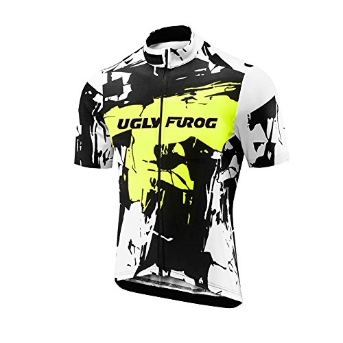 Uglyfrog 2018 Men's summer Cycling Jersey Road Bike Set Short Sleeves Jersey + Bib Shorts breathable and quickly dry USDXTZYSB06