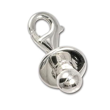 Colgante SilberDream de chupete de plata 925 para pulsera ...