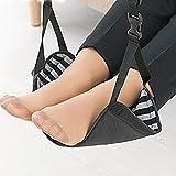 Foot Rest, Portable Travel Footrest Flight Carry-on Foot Rest Office Bus Airplane Feet Rest Feet Hammock