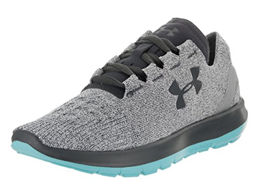 Under Armour Speedform Slingride Running Shoe - Women's Glacier Gray/Venetian Blue/Stealth Gray, 10.0