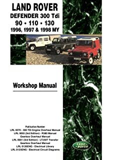 Land rover defender parts catalogue 90110130 1987 2006 r m land rover defender 300 tdi 90 110 130 workshop manual 1996 1998 my fandeluxe Choice Image