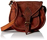 9''Leather Sling Women Handbag Leather Cross body Shoulder Satchel Travel Handbag Women Bag