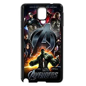 The Avengers Logo Samsung Galaxy Note 3 Black Cell Phone Case TAL858218 Cell Phone Case For Women