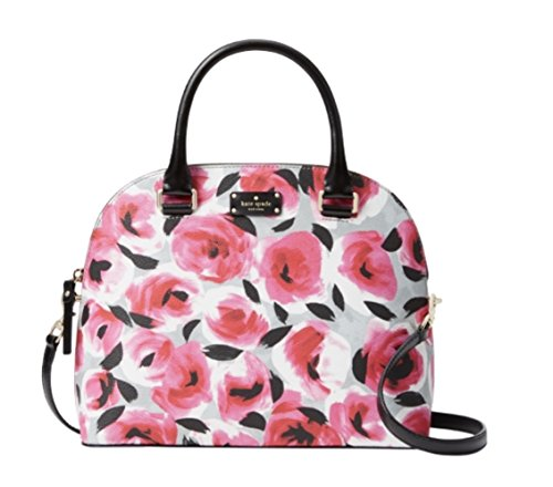 Kate Spade New York Carli Grove Street Printed Satchel Handbag, Rose Bed by Kate Spade New York