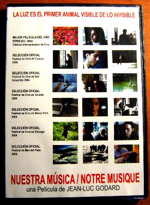 Notre Musique (Nuestra Musica) [Import NTSC Region 4] by Jean-Luc Godard (Spanish subtitles)