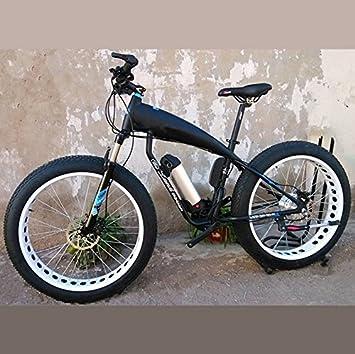 Yoli® Bicicleta 36 V batería de Litio eléctrico para Bicicleta de Nieve SHIMAN0 para Bicicleta
