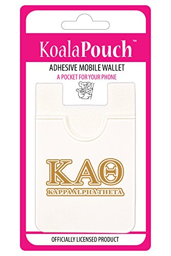 Kappa Alpha Theta - Koala Pouch - Adhesive cell phone wallet (Alpha Merchandise)