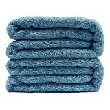 Polyte Premium Quick Dry Lint Free Microfiber Bath Sheet, 70 x 35 in, Set of 2