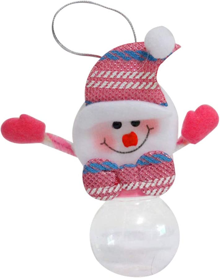 Kentop Navidad Tarro de Caramelo Regalo de Polo de Envase de la ...