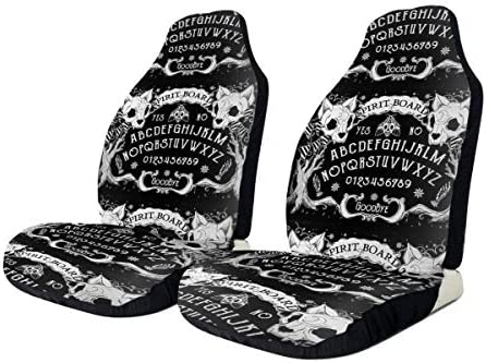 Jxrodekz Angel of Death Ouija Art Board Print Car Seat Cover Protector Cushion Premium Covers for Women, Men, Girls, Boys Fits Most Cars, Truck, SUV Or Van